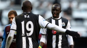Papiss Cissé, striker for Newcastle United