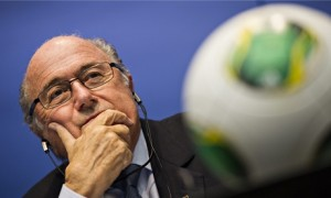 Fifa president Sepp Blatter. 'Blatter casts aside rivals, critics and gross offenders if they blatantly tarnish the image of his family within.' Photograph: Ennio Leanza/AP
