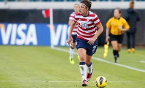 SOCCER: FEB 09 Women's - Scotland v USA